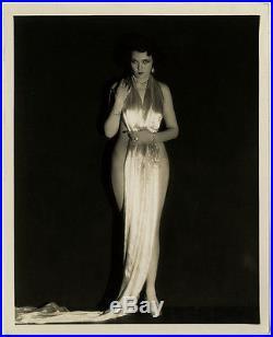 Erotic 1929 Art Deco Hollywood Photograph Leone Lane Vintage E. R. Richee Risqué
