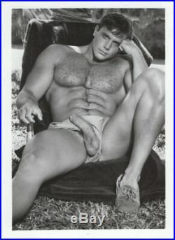 FULL SET of 10 vintage COLT MODEL gay photographs 5x7 B&W JOHN PRUITT hot body