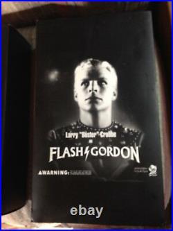 Flash Gordon, Buster Crabbe Rare Ltd Ed 1/16 scale with rocket ship and Ray guns