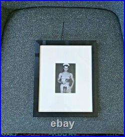 GAY INT. Original/vintage PLATO STUDIO nude beefcake PHOTO+EXHIBIT CATALOGUE