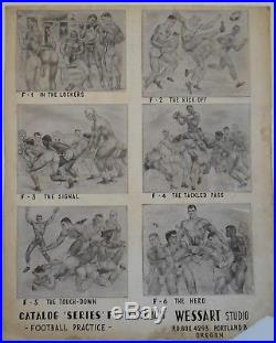 Gay Interest Vintage Male Physique, Gay Art Photo Repro Display SPARTACUS