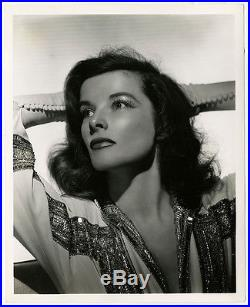 Gorgeous Vintage C. S. Bull 1940 Photograph Katharine Hepburn Philadelphia Story