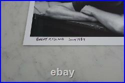 Grateful Dead 8x10 Brent Mydland Black & White Original Print David Gans
