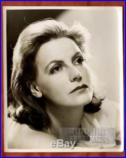 Greta Garbo Portrait Ultra Rare 1939 Orig. Vintage Photo