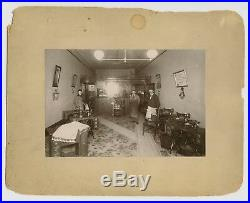 HART, CA 1900s SEAMSTRESS OCCUPATIONAL VTG CABINET CARD PHOTO SINGER SEWING