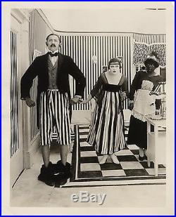 HIS LAST LAUGH (1916) Vntg orig 8x10 b&w print still Keystone comedy ft. Thurman