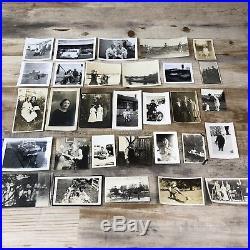 HUGE LOT 1,000 VINTAGE B & W SNAPSHOT PHOTOS 1900s-1960s