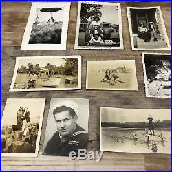 HUGE LOT 1,200+ VINTAGE B & W SNAPSHOT PHOTOS 1910-1960s