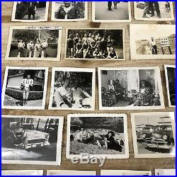 HUGE LOT 2,000 VINTAGE B & W SNAPSHOT PHOTOS 1910-1960s