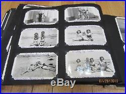 HUGE LOT Vintage 1930 50s Photos Albums One Family WWII Alaska SWIMSUIT Japan