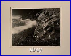 HUNTINGTON WITHERILL Rock Form & Surf 1972 VINTAGE GELATIN SILVER PRINT