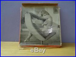 Hazel taylor in time to strip super 8 mm b/w movie vintage rare item