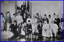 Historical Vintage Unframed photo of the foundation Arab League. The Cairo 1945