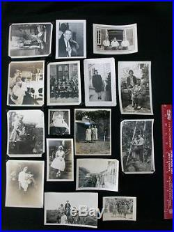 Huge Dealer Lot of 600+ Old Vintage RP Photographs B/W Real Photos All People