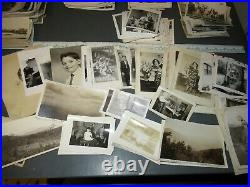 Huge Lot 1100+ Old Vintage Photos Snapshots Black & White Photographs