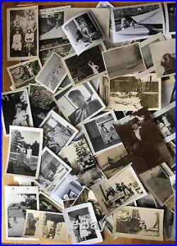 Huge Lot 15+ lbs Approx 4000+ Vintage Black & White Snapshot Photos 1900s-1970s