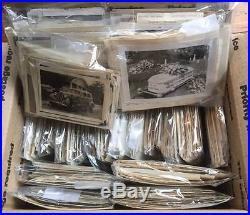 Huge Lot 2100 Vintage B&W & Sepia Snapshot Photos 1900s-1970s