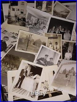 Huge Lot 500 Vintage Photos 1910s through 1960s Black & White Snapshots