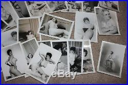 Huge vintage Original 1950's RISQUE Photo lot ALYSON SANBORN LORRAINE BURNETTE