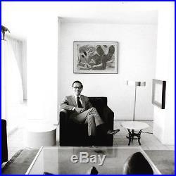 I. M. Pei Architect Portrait/8x10 B&w Vintage Gelatin Silver Photo/ Signed Orig
