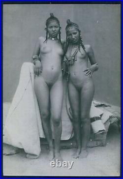 I ethnic Eritrea Ethiopia Africa full nude black woman original 1920s photo