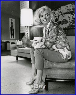 Iconic Blonde Bombshell Marilyn Monroe Vintage George Barris Photograph 1962