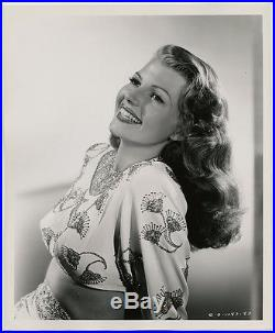 Iconic Femme Fatale Rita Hayworth Vintage 1946 Robert Coburn Gilda Photograph