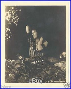Incredible Rare Deco Hungarian Gypsy Myrna Loy Harold Dean Carsey Vintage Photo