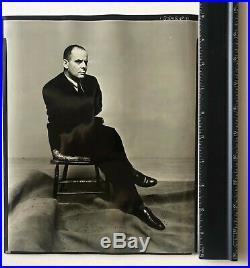 Irving Penn Lincoln Kirstein Portrait Vintage Silver Gelatin Print 1948 Handstmp