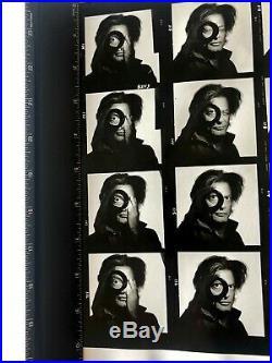 Irving Penn of Richard AVEDON Vintage Silver Gelatin Print Handstamp 9/85