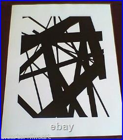 JAMES WELLING'New Abstractions #1A', 1998 SIGNED Photograph Limited Edition