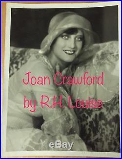 JOAN CRAWFORD Movie Star Vintage 1920's Oversized RUTH HARRIET LOUISE Photo