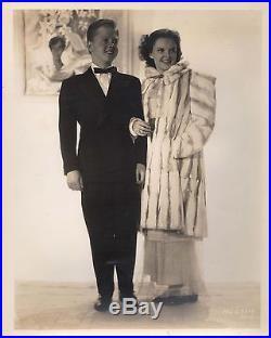 JUDY GARLAND & MICKEY ROONEY Original Vintage MGM Photograph 1939 PORTRAIT