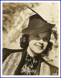 JUDY GARLAND Original Vintage MGM Photo PORTRAIT 1930's