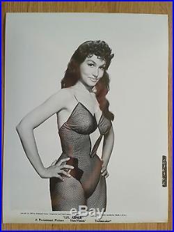 JULIE NEWMAR scarce vintage US 8x10 leggy portrait still #42- LI'L ABNER 1959