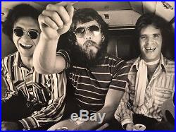 Jim Marshall Photograph CCR Creedence Learjet 1970 Vintage Silver Gelatin