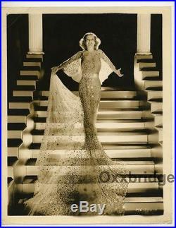 Joan Crawford 1933 Glamorous George Hurrell Original Vintage Glamour Photo J5637