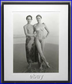 Jock Sturges 2000 Maia And Mona Montalivet France 16x20 Photo With Free Frame