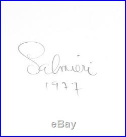 John Lee Hooker Album Photo / 8X10 B&W Vintage Gelatin Silver Print/ Signed