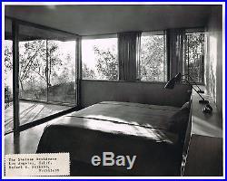 Julius Shulman House Vintage Stamped 8 x 10 Photo Raphael Soriano Architect 1950