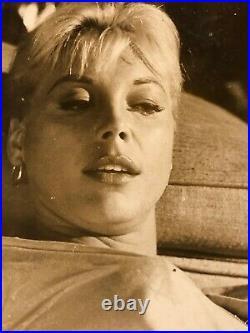 Kate Manx Very Rare Vintage Original 8/10 Photo'60 Suicide'64 Private Property