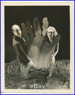 King Kong 1933 Original Fay Wray & Merian C Cooper On Set RKO Prop Vintage Photo