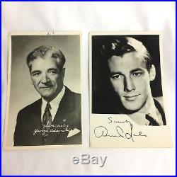 LOT 40+ Vtg 1950 Photos UFO George Adamski Desmond Leslie Contactee Venusian