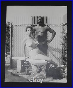 LOUIS JORDAN Self Portrait With Wife Nude 1969 Blaxploitation Photo Black Art