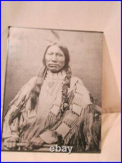 L. A. Huffman Photograph American Horse Ogala Sioux 1879