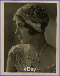 Large Vintage 1920s Marion Davies Ruth Harriet Louise Fine Art Deco Photograph