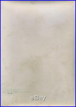 Large Vintage Luise Rainer 1937 Carl Van Vechten Fine Art Photograph Masterpiece