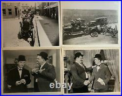 Laurel And Hardy Mostly Original And Vintage Photo Group, 17 Different
