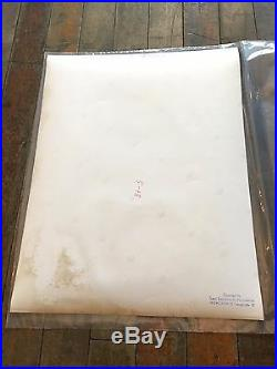 Leni Riefenstahl Vintage Original Print of African Nuba Tribe 1968