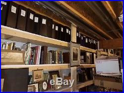 Lifelong Collection Of Atlases Photo Albums CDV's Cab Cards Negatives Vintage